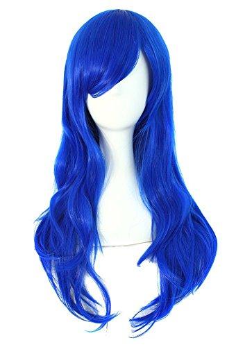 Kostüm Blau Perücke - MapofBeauty 28