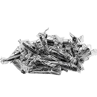 AO Hygienemundstücke XL 50er-Pack (schwarz) | Shisha-Mundstücke | Mundstücke für Wasserpfeifen einweg | Hookah Mouth Piece