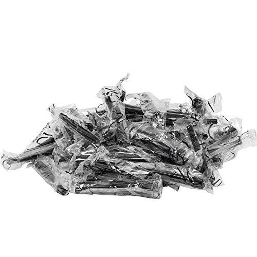 AO Hygienemundstücke XL 50er-Pack (schwarz)   Shisha-Mundstücke   Mundstücke für Wasserpfeifen einweg   Hookah Mouth Piece