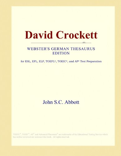 David Crockett (Webster's German Thesaurus Edition)