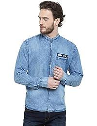 380ecc6bfb Denim Men s Shirts  Buy Denim Men s Shirts online at best prices in ...