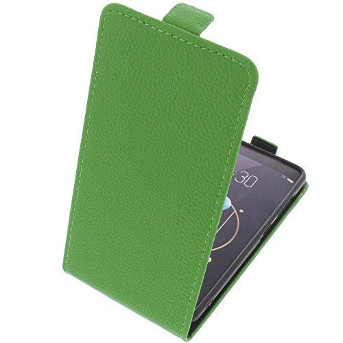 foto-kontor Tasche für Archos Diamond Alpha Smartphone Flipstyle Schutz Hülle grün
