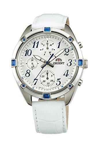ORIENT à la mode à quartz chronographe montre pour femme Uy04006W