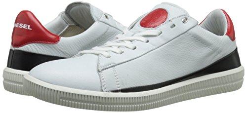 Diesel S-NAPTIK Y01262 P0847 H5872 scarpa bianco/rosso Bianco/Rosso