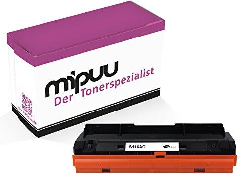 Preisvergleich Produktbild Mipuu® Premium Toner ersetzt Samsung MLT-D116L MLTD116 L MLT-D 116 für Xpress M2835DW/SEE, Xpress M2825ND/SEE, Samsung Xpress M2675FN/XEC, SL-M2625, SL-M2875 - MLT-D116L/ELS - Schwarz 3.000 Seiten
