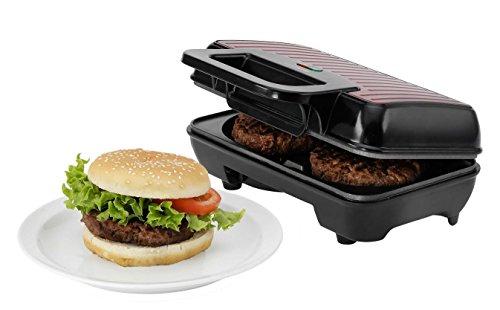 Melissa Hamburger-Maker perfect American Diner elektrische Burger-Presse