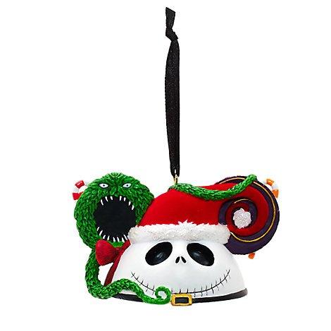 Unbekannt Jack Skellington Mickey Ohren Weihnachten Ornament, offizielles Disney