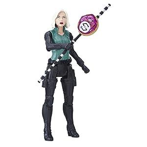 Marvel- Figura Infinity War, Black Widow con Gema y Accesorio (Hasbro E1411EU4) 11