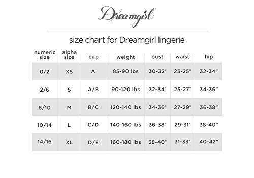 Dreamgirl Damen 11827 Dessous, Nude/Weiß, Groß - 7
