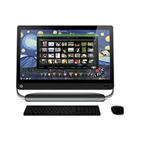 "HP Pavillon 27-1020EF Ordinateur de bureau AIO 27"" (68,6 cm) Intel Core i5 2 To RAM 8192 Mo Windows 7 Noir"