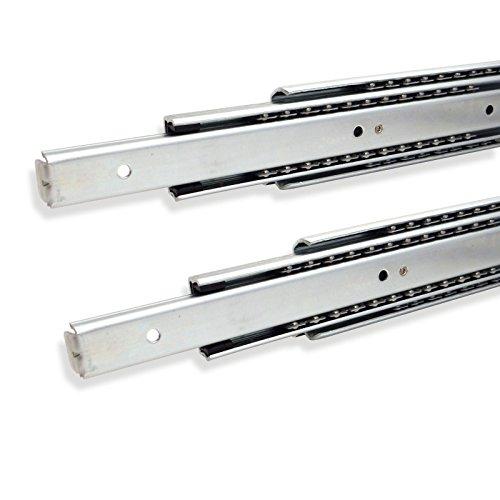 Galleria fotografica 1 paio (2 pezzi) SO-TECH® Guida per Cassetti Uscita Totale 550 mm Portata Massima 80 kg Guida Cassetto Cassetto Estraibile