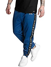 Thug Life Herren Hosen / Jogginghose Two Stripes