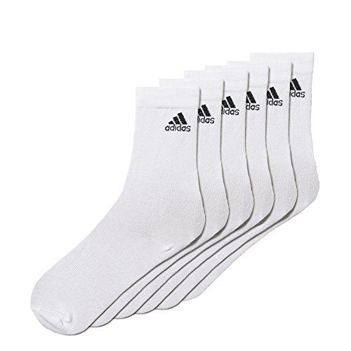 adidas Performance Crew Thin Socks 6Pairs