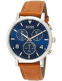 Hugo Boss Hommes Chronograph Quartz Montre avec Bracelet en Cuir 1513689