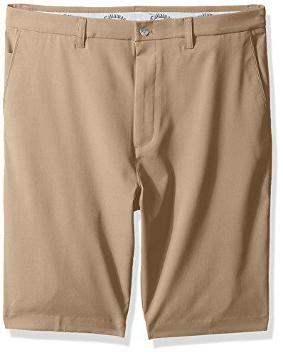 Callaway Men's Big & Tall Opti-Stretch Front Solid Short