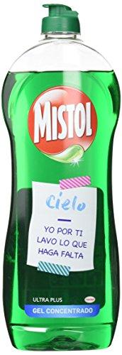 Lavavajilla Mistol Ultra Plus–2unidades 620ml
