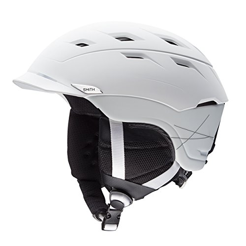 Smith Erwachsene Variance Skihelm, Mtt White, XL