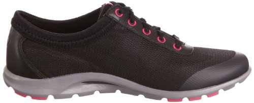 Rockport V73878, Baskets mode femme Noir (Black/Magenta)