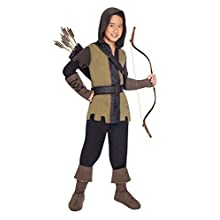 amscan Child Deluxe Prince Of Thieves Full Fancy Costume (10-12 Years)