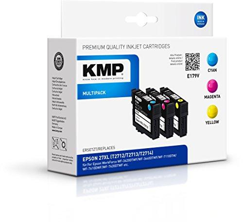 Preisvergleich Produktbild KMP Multipack für Epson WorkForce WF-3600/WF-7600, E179V