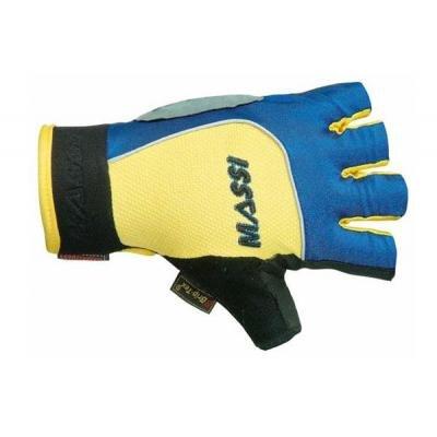 MASSI-Handschuh Voodoo gelb/blau T. S