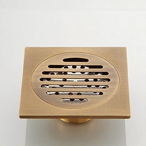 Déodorant cuivre vidange Kit/Salle de bain salle de bain lave linge s'égoutter