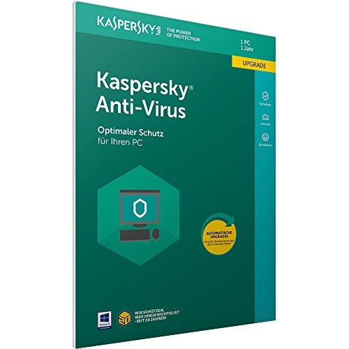 Kaspersky Anti-Virus 2018 Upgrade | 1 Gerät | 1 Jahr | Windows | Download