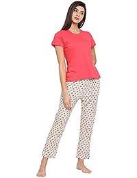 ddae4b193ee Amazon.in  Clovia - Sleep   Lounge Wear   Women  Clothing   Accessories