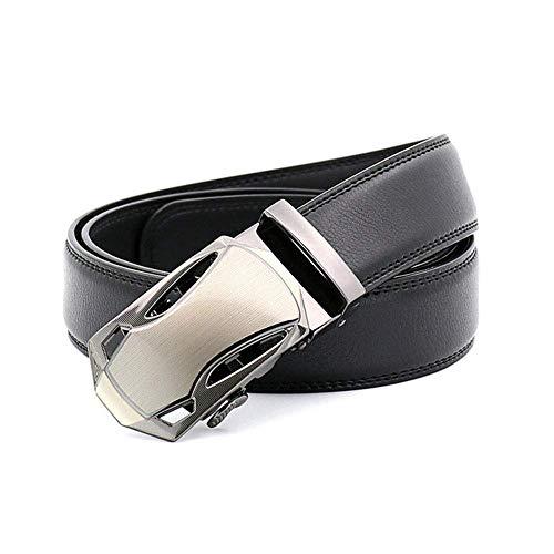 aoliaoyudonggha Belt Men Leather Automatic Belts Cowhide Designers