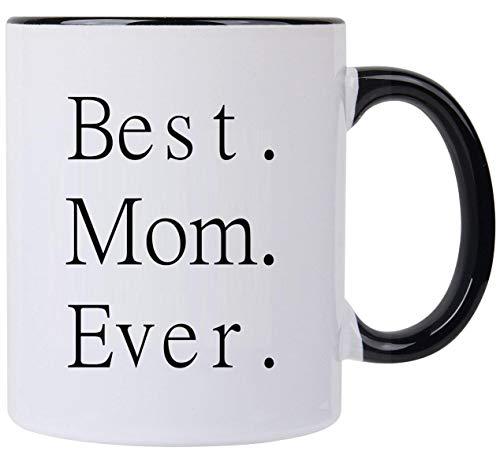 Funny gift-world 's Best Tasse, 11Oz Kaffee mugs-gifts für Dad Mom Geburtstag oder Weihnachten best mom weiß