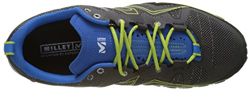 MILLET Alpine Rush, Scarpe da Arrampicata Basse Uomo Multicolore (Grey/electric Blue)