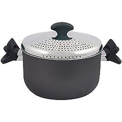 MasterPro Gourmet - Olla para pasta, 20 cm, aluminio