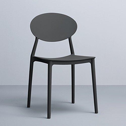 CKH Tavola da Pranzo Creativa di riunione della Sedia di Combinazione e  della Sedia di plastica della Sedia di Svago di plastica Minimalista  Moderna ...