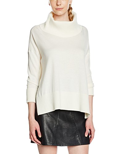 Tommy Hilfiger Damen Bluse Belka Cape SWTR, Weiß (Snow White 118), 38 (Herstellergröße: M) (Hilfiger Cape Tommy Damen)