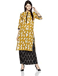 Amazon Brand- Myx Women's A-Line Kurta