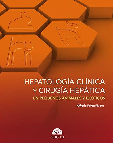 Portada del libro Hepatología clínica y cirugía hepática en pequeños animales y exóticos