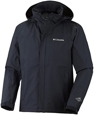 Columbia Mission Air II Veste manches longues à capuche Homme Abyss FR : L (Taille Fabricant : L)