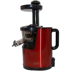 Extracteur de jus Vertical VitalJuicer 01 Inox rouge by Zen