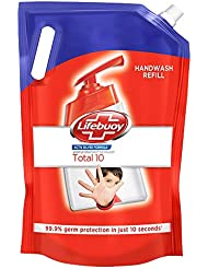 Lifebuoy Total 10 Active Silver Formula-Germ Protection Handwash Refill, 1.5 L