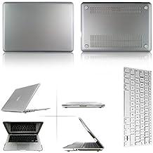 "Eagle® Mate Carcasa rígida carcasa para funda de fijación + Juego Keyboard Skin para plata Macbook Pro 15"" with Retina Display (Model A1398)"