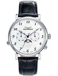 Reloj Suizo Sandoz Hombre 81433-05 Antique