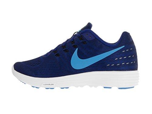 Nike Herren Lunartempo 2 Laufschuhe Azul (Azul (deep royal blue/blue glow-black-white))