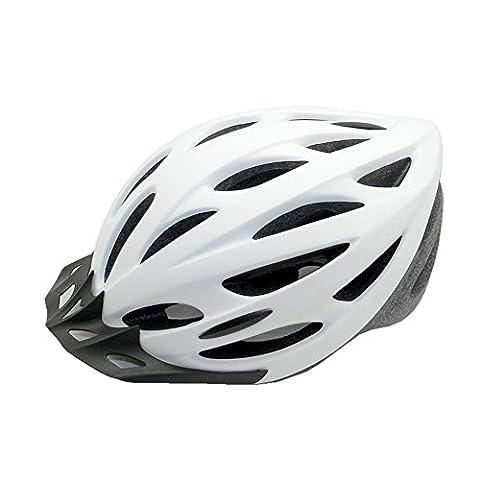 Ezyoutdoor Unisex White Eco-Friendly Super Light Integrally Bike Helmet Adjustable
