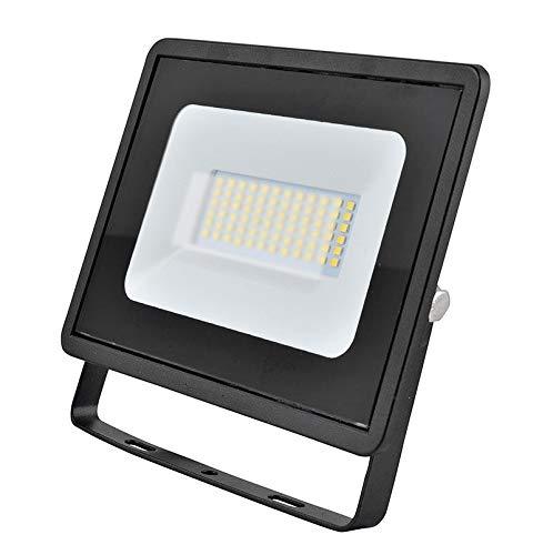 30w LED Flutlicht/Floodlight/Scheinwerfer 4000k - Schwarz (Eveready s13946) -