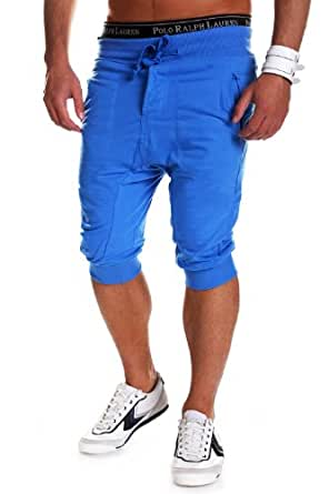 MT Styles - 297 - Bermuda coupe ample - Bleu - XXL