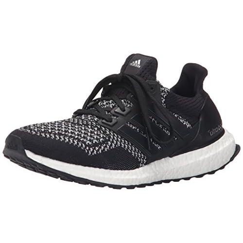 41uXkPnlzGL. SS500  - adidas Women's Adidas Running Shoes Black / Black / Silver