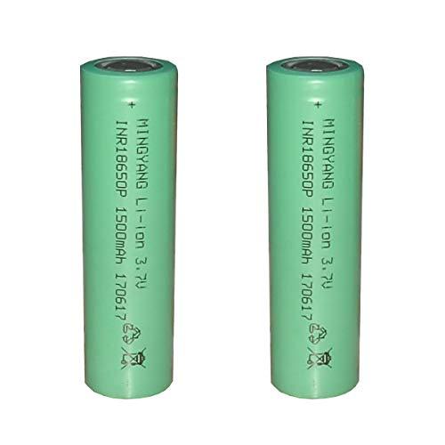 Batería Recargable 3000mah con Cabeza Plana FSKE 2 Piezas FSKE