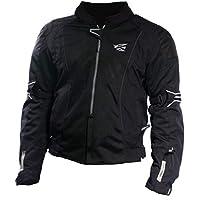 AGV Sport Aidan Giacche moto in tessuto (XXXL, Nero) - Agv Sport Moto