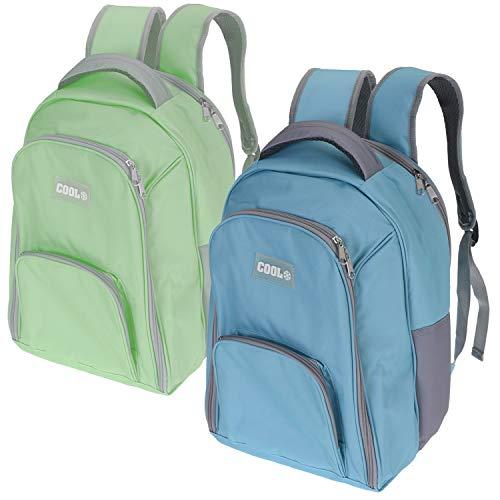 LS-LebenStil Picknick Thermo-Rucksack Blau Kühltasche Thermotasche Kühlbox Backpack