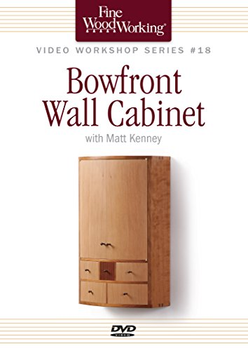Bowfront Wall Cabinet